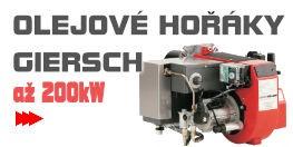 Olejové hořáky Giersch